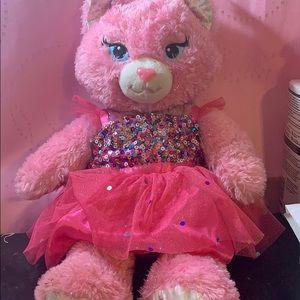 Build a bear door pink with dress